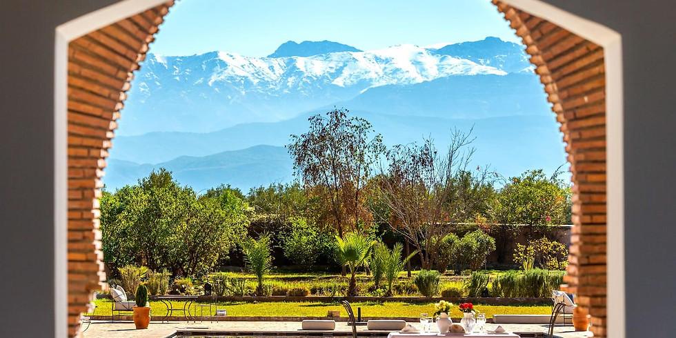 Luksus Slow Yogi Lifestyle Retreat i Marrakech 2022