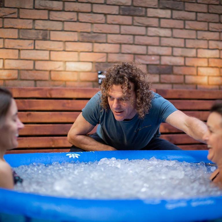 Wim Hof Ice Method Weekend med Tim van der Vliet