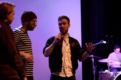 Q&A med publikum etter visning av Aurland Heartbeat under Den Norske Dokumentarfilmfestivalen.