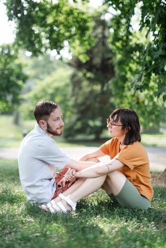 Courtney and Josh, 2021