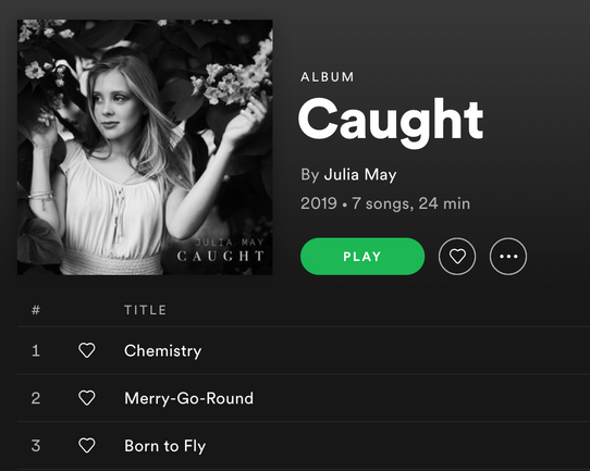 Julia May, Spotify, 2019