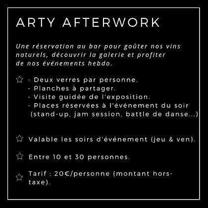 Arty afterwork