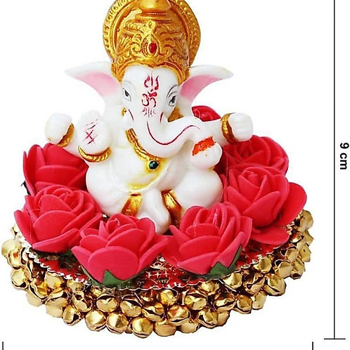 Handicrafted blessing lord ganesha decorative showpiece