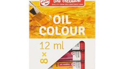 Art creations oil colour set of 8