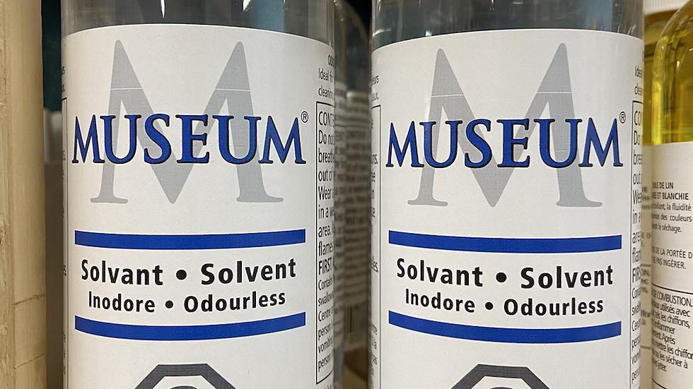 Museum brand odourless solvent 473ml