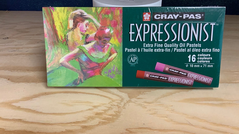 Cray-Pas Expressionist Oil Pastels