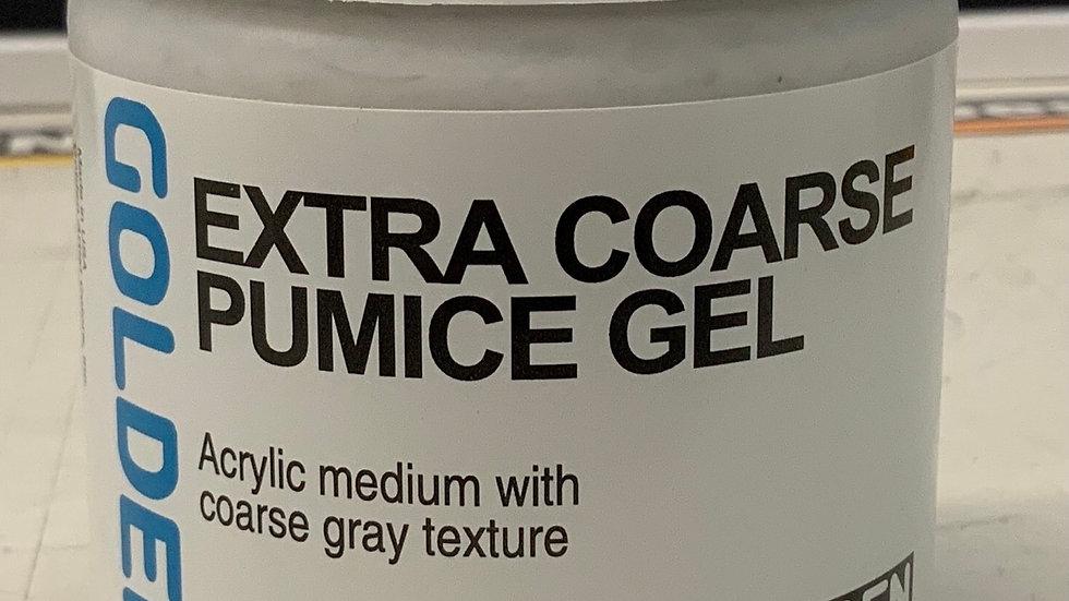 Golden Extra Coarse Pumice Gel