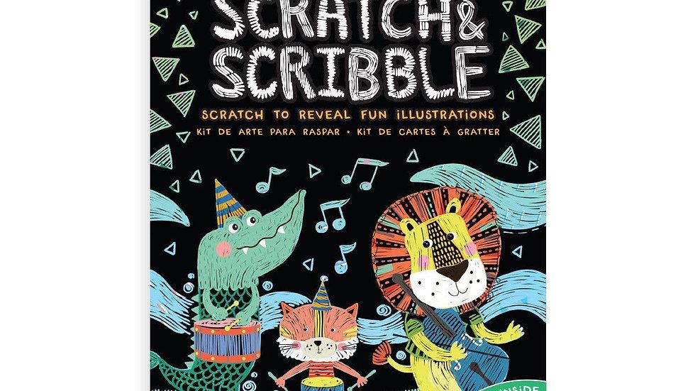 Mini scratch and scribble set - Safari