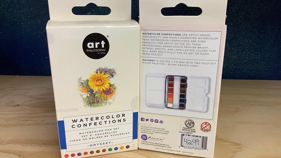 Art Philosophy - Watercolour Pan Set - Odyssey