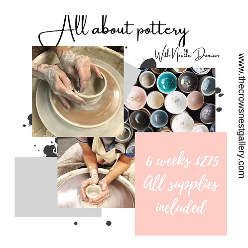All about Pottery (2 start dates available)