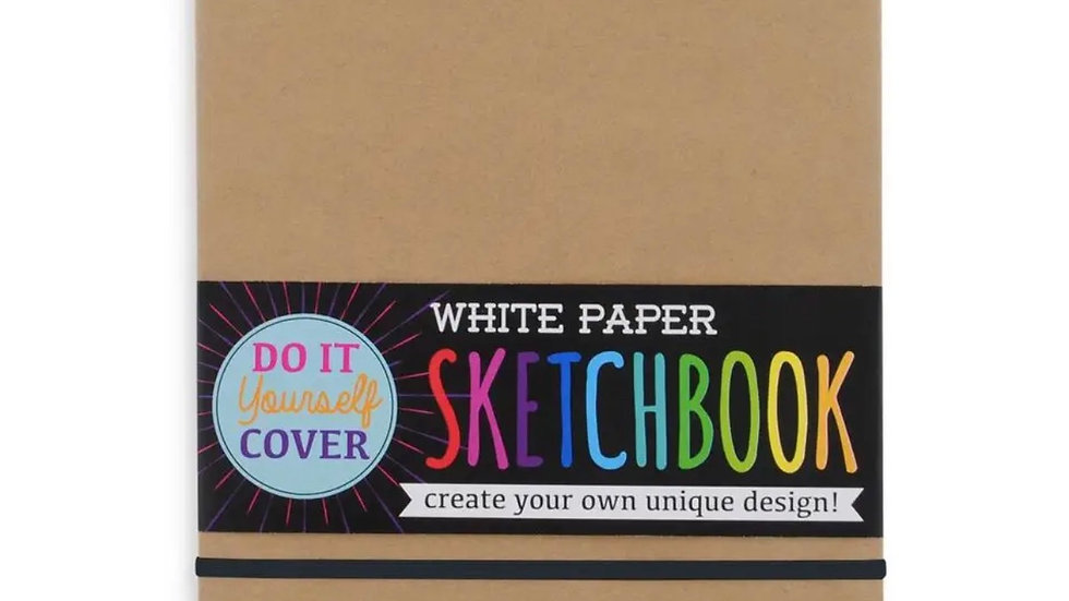 Sketch book with Diy cover 8.5x 11