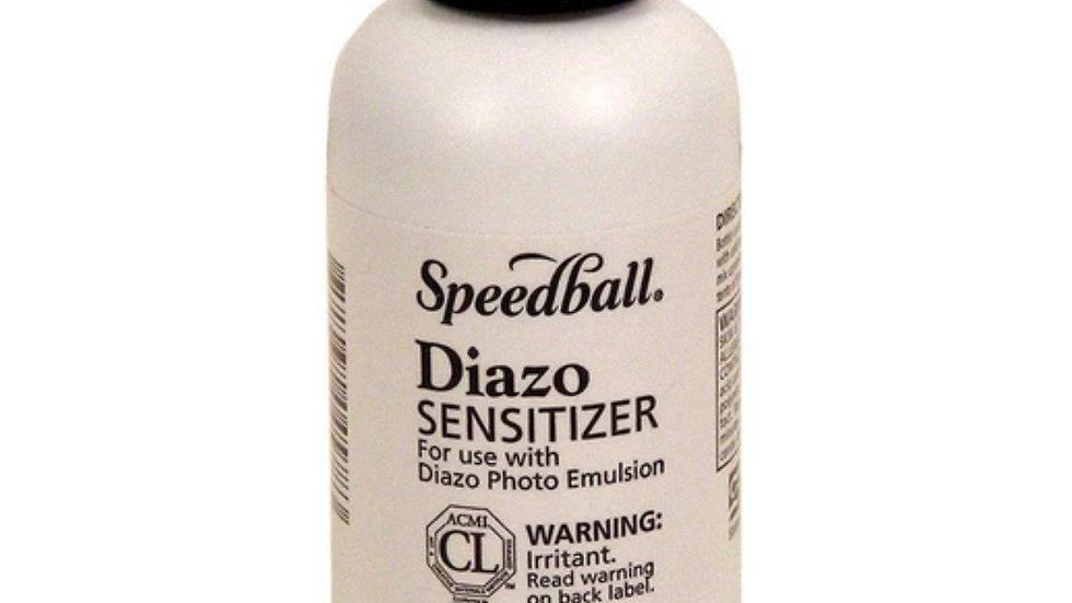 Diazinon sensitizer for silkscreening