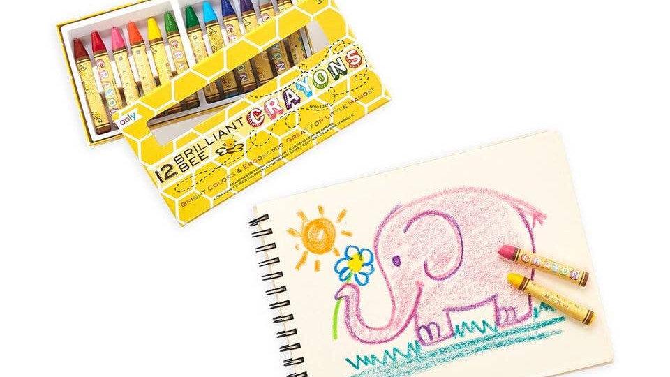 Bees wax crayons