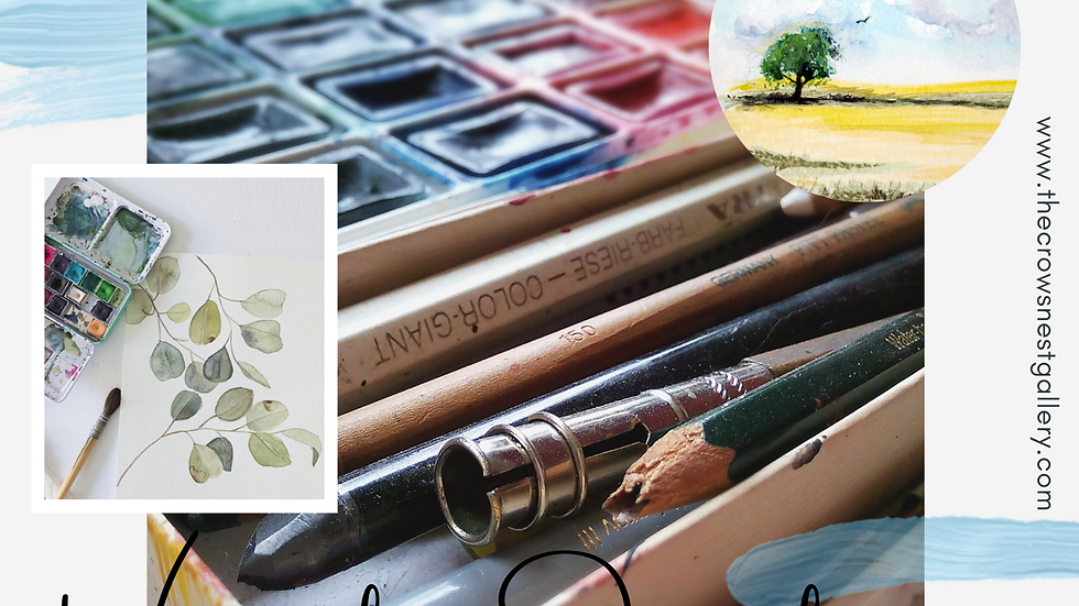 Watercolour journaling January 13th