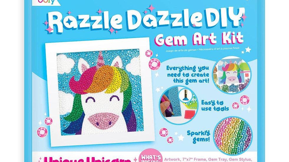 Razzle Dazzle Gem art kit Unique Unicorn