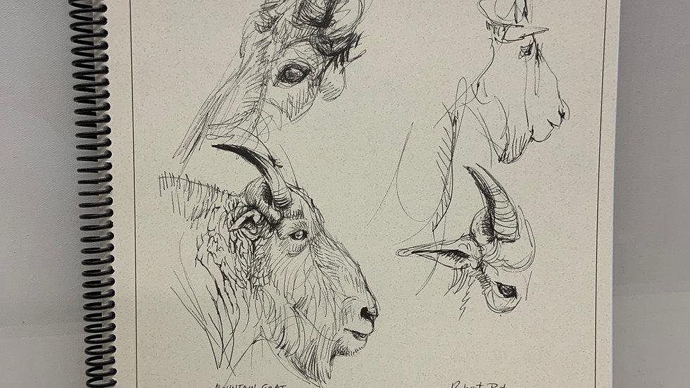"""Robert Bateman Sketchbook - 11"""" x 14"""""""