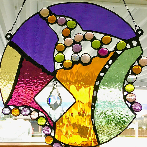 Abstract stained glass - September 26th