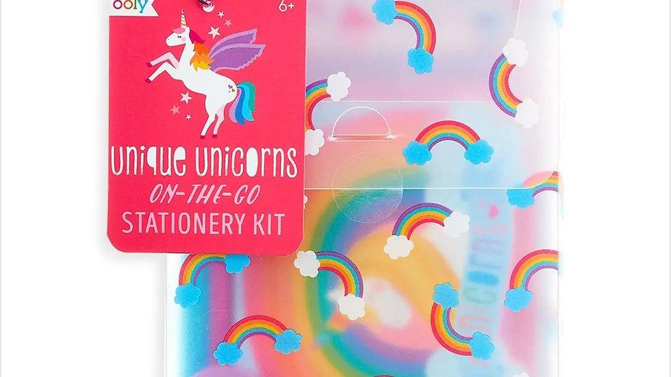Unicorns stationary set 21 pieces