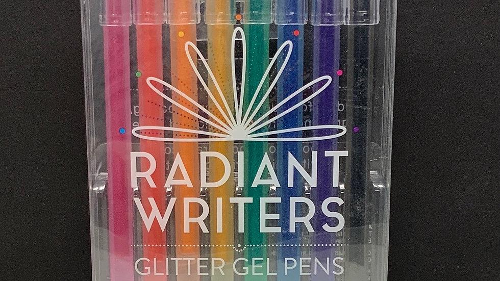 Ooly Radiant Writers - Glitter Gel Pens