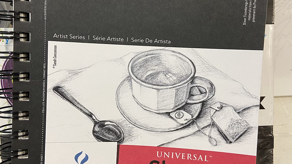 Canson universal sketch book 5.5 x 8.5
