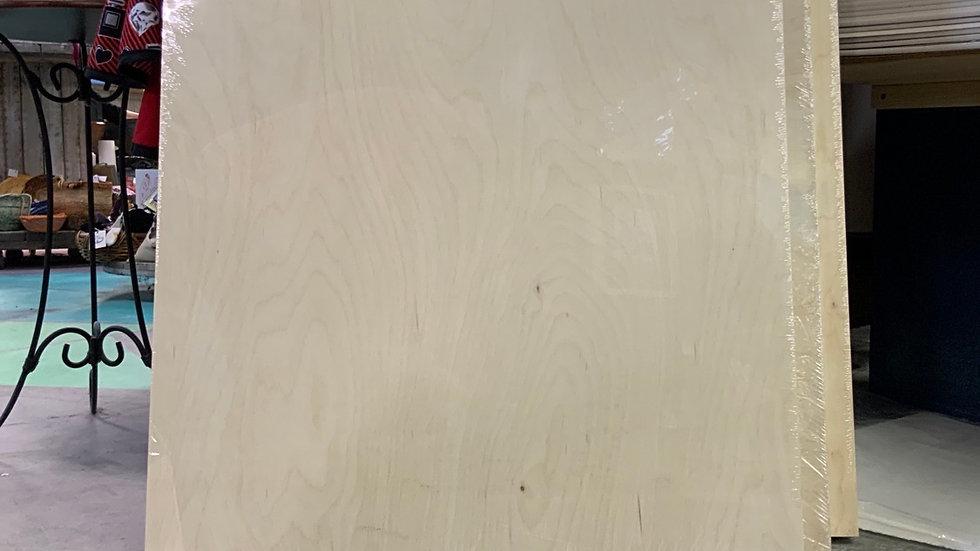 Birch Wood Panel - 24x30