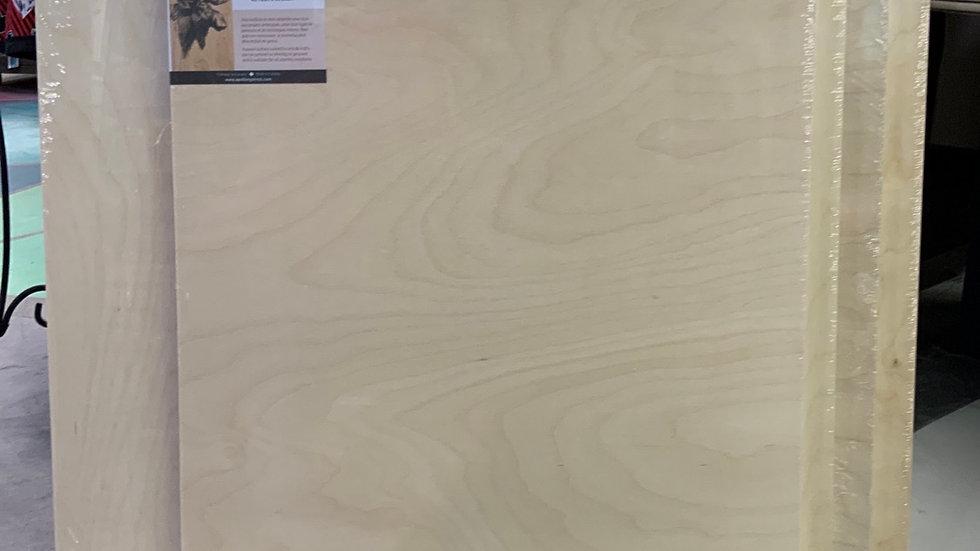 Birch Wood Panel - 18x24