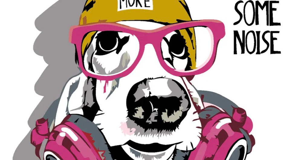 Hipster Pup - Paint by Number Kit