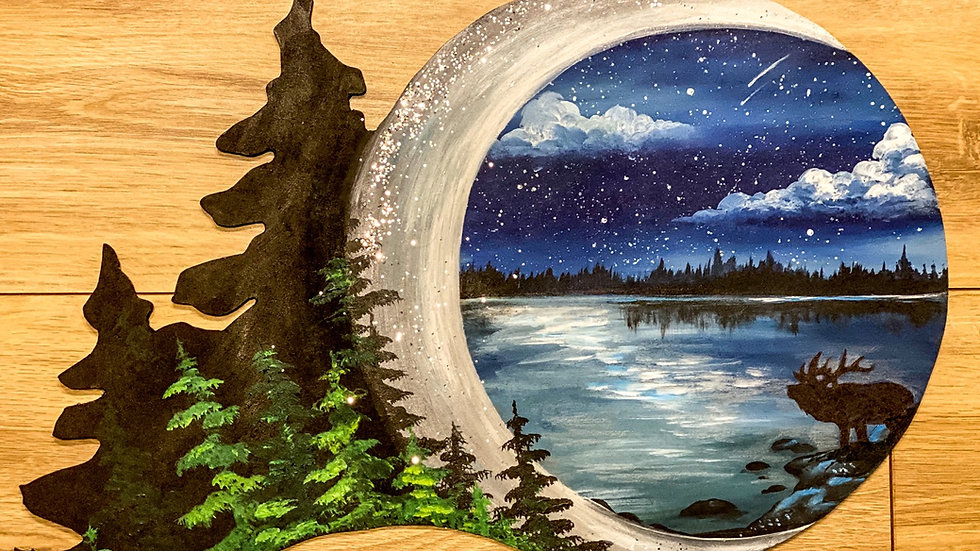 Moon light reflections Take home art kit
