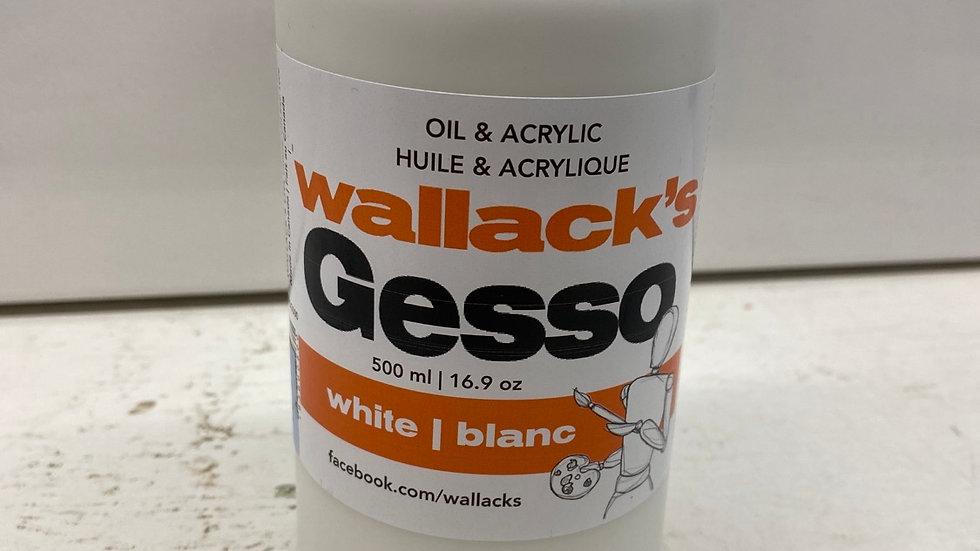 Wallack's Gesso 500ml