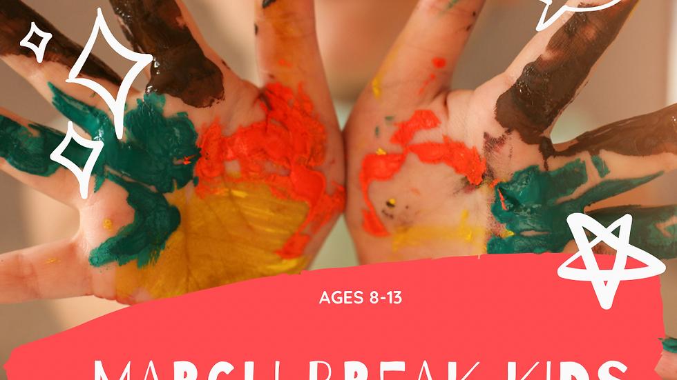 March break kids camps (choose a date)