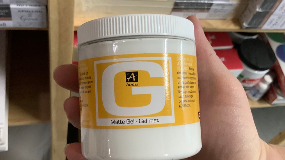 Matte Gel Medium  - Acrylic Polymer Gel
