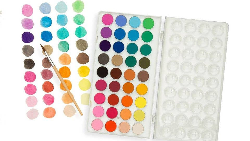Water colour paint pods set of 36