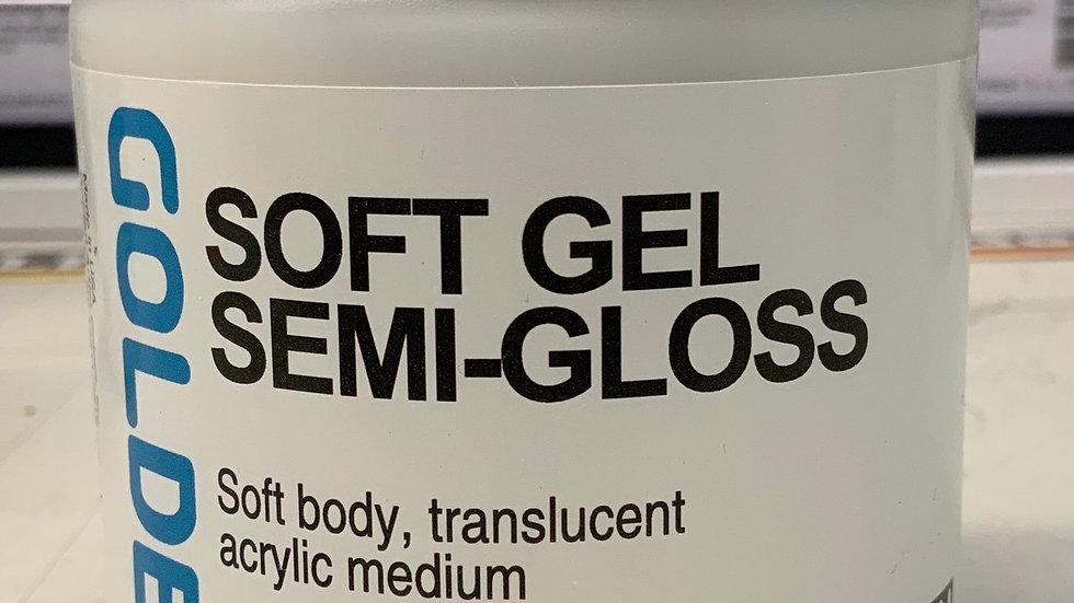 Golden Soft Gel Semi-Gloss