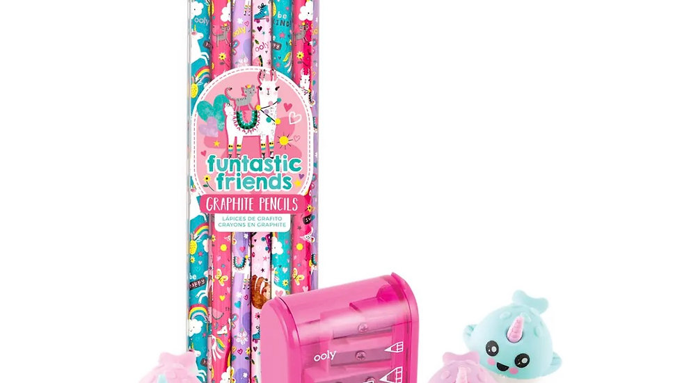 Fantastic Friends Narwhal gift set