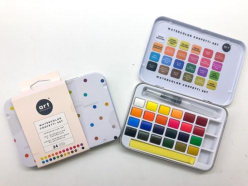 Watercolour confetti set - Artist grade