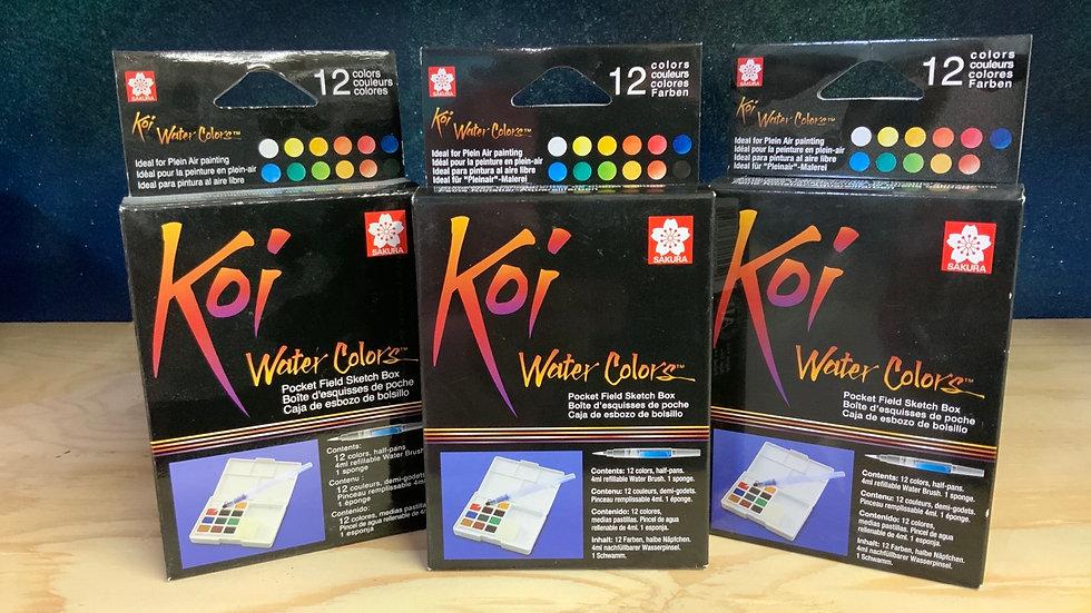 Koi Water Colors