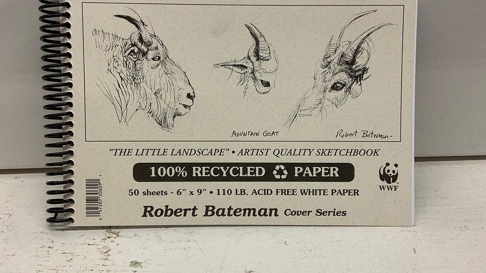 "Robert Bateman Sketch Book - 6""x9"""