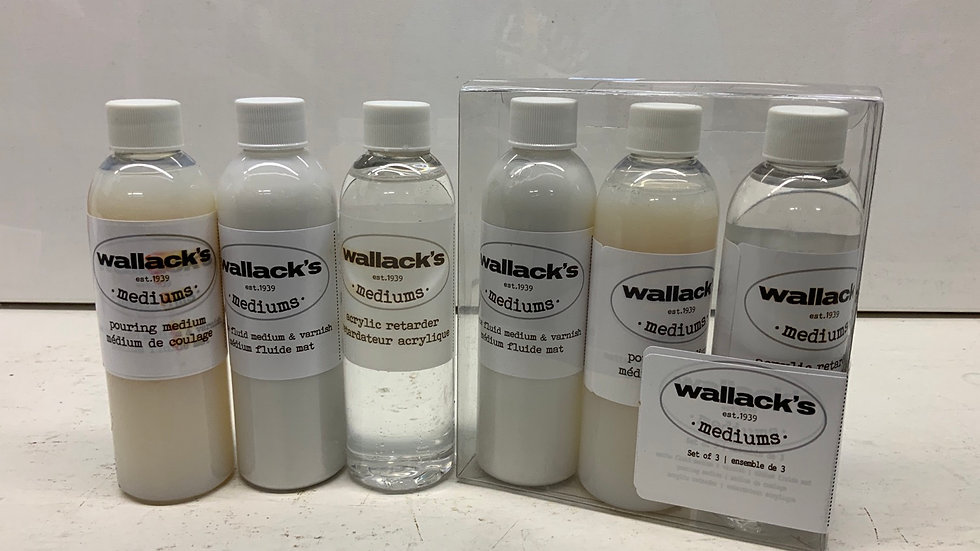 Wallack's Mediums - Set of 3