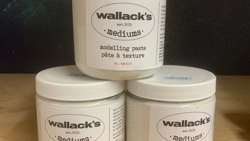 Wallack's Modelling Paste - 237ml