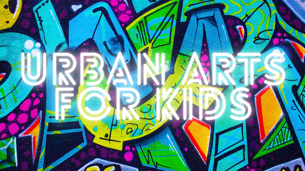 Urban Arts for kids March 18th