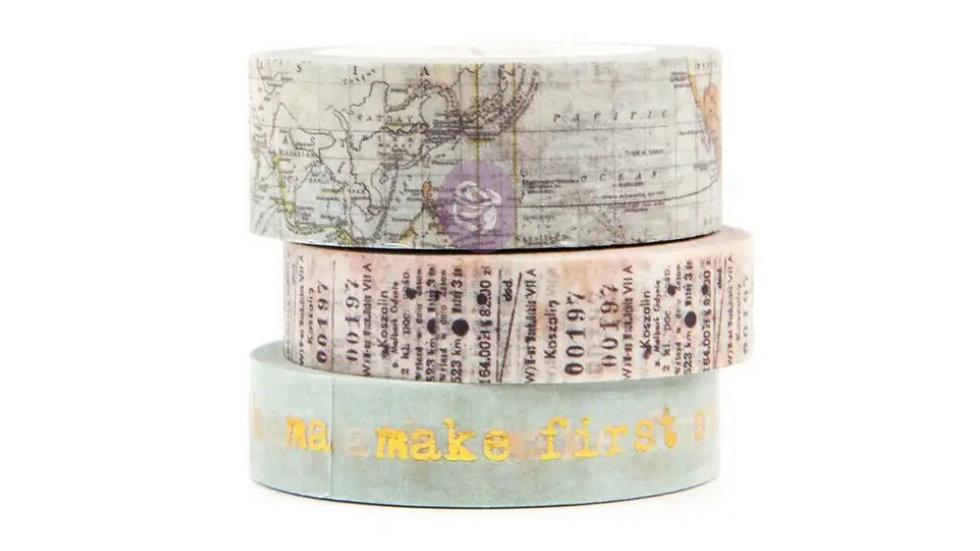 Mixed media decorative tapes