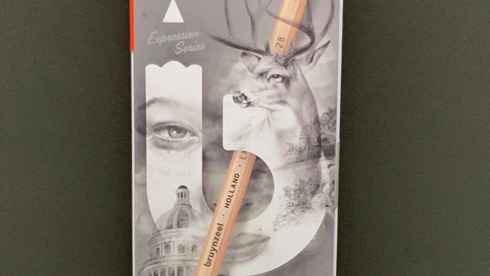 Bruynzeel 6x Graphite Pencils