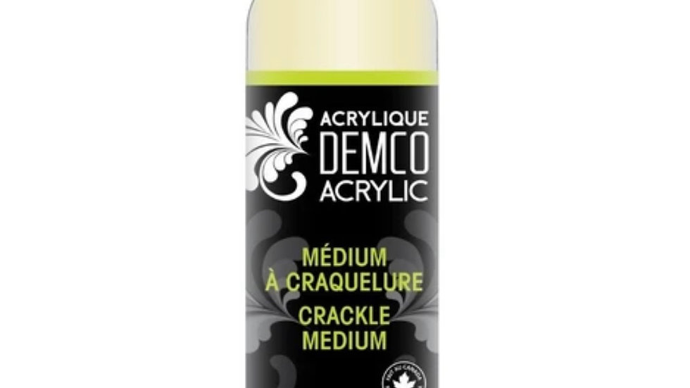 Crackle medium