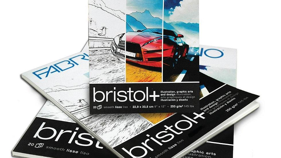 Fabriano Bristol pad 9x12