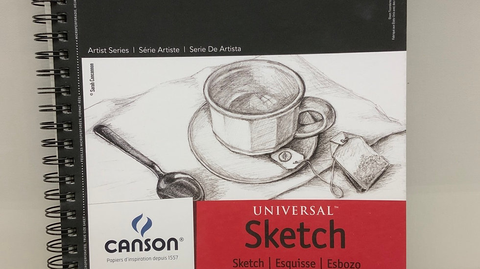 Canson Universal Sketch Book 9x12 in