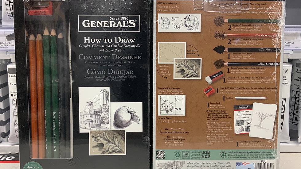 General's How to Draw Kit