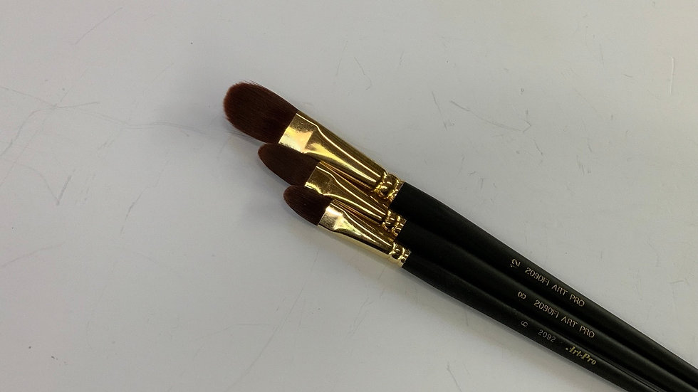 Art Pro Filbert Paint Brushes