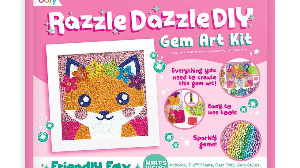 Friendly Fox Razzle Dazzle gem art kit