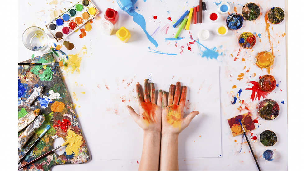 Creative kids mixed media May 7th