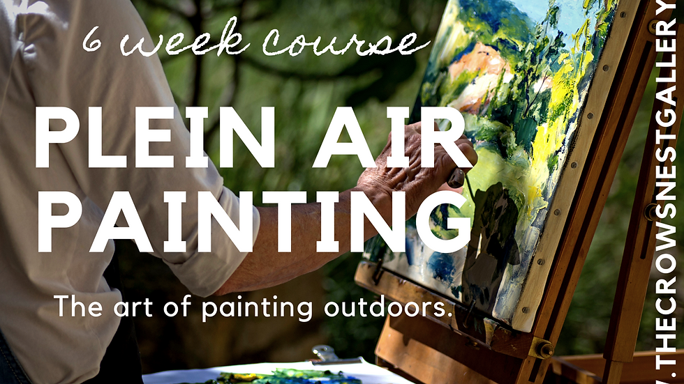 Plein air painting for beginners May 15th